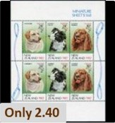 Dogs on Stamps