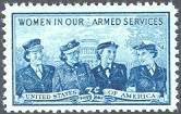 Services Women Issue, United States, 1952 (Scott 1013)