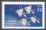 U.S. Air Force 50th Anniv. Issue, United States, 1997 (Scott 3167)