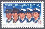 Women in Military Service, United States, 1997 (Scott 3174)