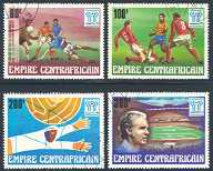 Central African Republic, 1977, World Cup Championships, Argentina (Scott 304-7)