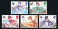 Great Britain - 1985 Christmas Issue, Set of 5 Stamps (Scott 1124-8)