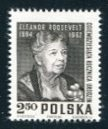 Eleanor Roosevelt Issue, Poland, 1964 (Scott 1272)