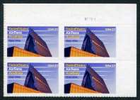 U.S. Air Force Academy, Plate# Block of 4 Stamps, United States, 2004 (Scott 3838)