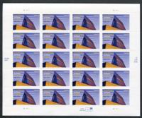 U.S. Air Force Academy, Pane of 20 Stamps, United States, 2004 (Scott 3838)