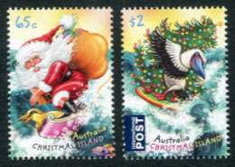 Christmas Island - Christmas 2018, Set of 2 Stamps (Scott 576-7)