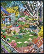 """In the Garden,"" Sheet of 5 Stamps, Australia, 2019"